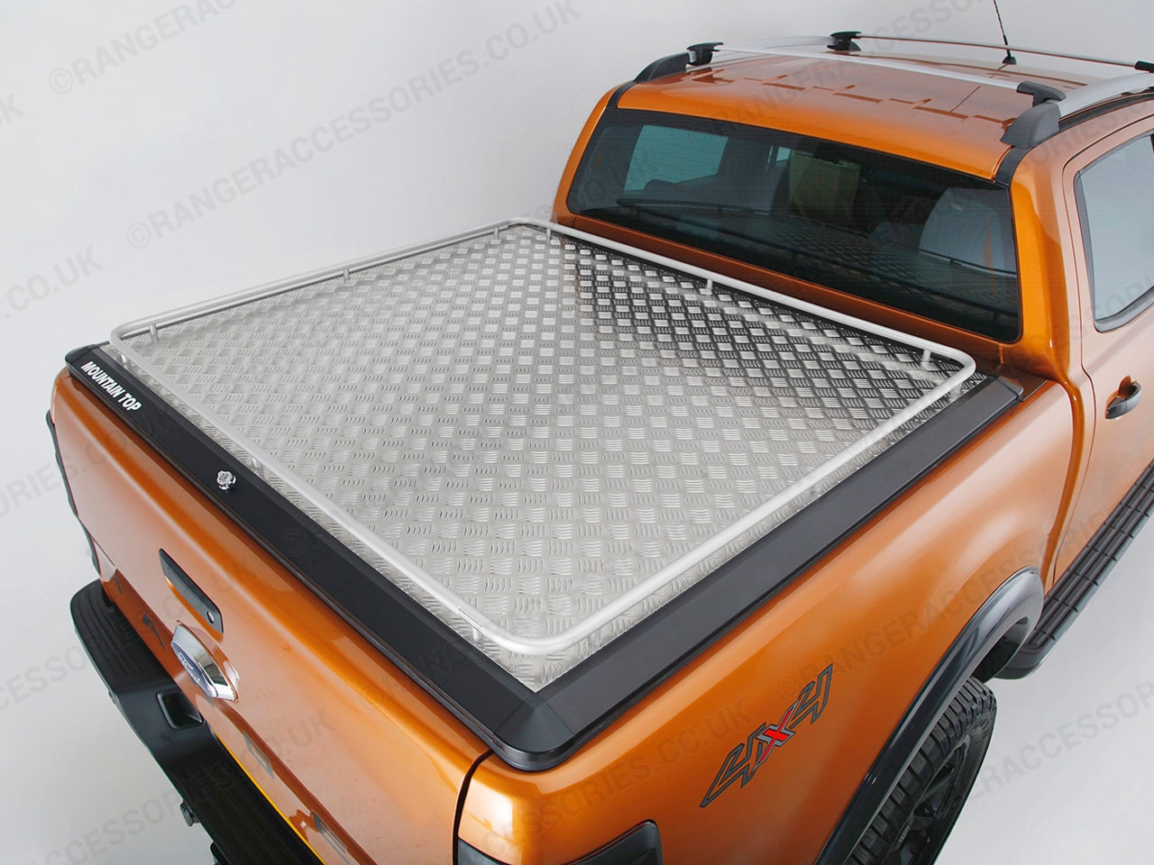 Ford Ranger Mountain Top Continous Rail Tonneau Cover