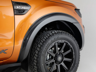 Ford Ranger 2019 On Double Cab Standard 55MM Arches - Matt Black