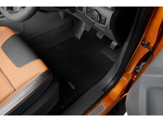 Ford Ranger double cab mud mat set