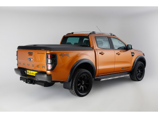 Ford Ranger double cab load bed cover black