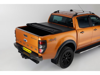 Ford Ranger 2012 On Double Cab Soft Tri-Folding Load Bed Cover