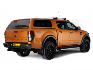 Ford Ranger fitted with Aeroklas Leisure Canopy pack