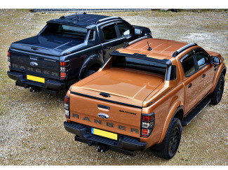 Ford Ranger double cab Alpha SC-Z black edition tonneau cover