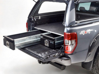 Ford Ranger Double Cab Bespoke Load Bed Drawer System