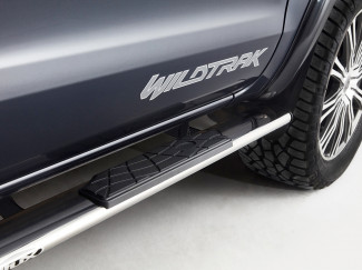 Ford Ranger Stainless Steel 4 Inch Oval Side Bar Set