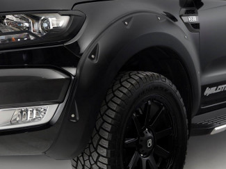 Ranger X-treme Wheel Arch Kit In Matte Black
