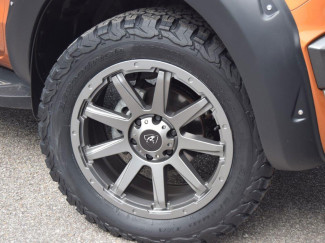 "Predator Hurricane 18"" Wheel & Tyre Package in Matt Gun Metal Grey"