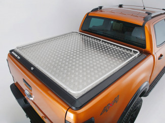New Ford Ranger Raptor 2019 On Load Bed Cover - Mountain Top Continous Rail