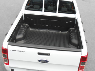 Under rail load bed liner for Ford Ranger double cab