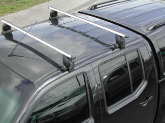 Ford Ranger 2012 On Roof Cross Bar Set For Vehicle - Not Wildtrak Model