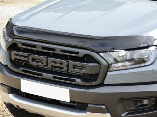 Ford Ranger Dark Smoke Bonnet Guard