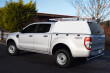 Ford Ranger double cab fitted with commercial canopy