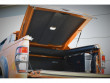 Alpha SC-Z load bed cover with interior light and carpet lining