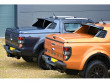 Ford Ranger double cab with black fins and spoiler on Alpha SC-Z
