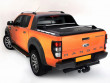 lift up tonneau cover for the Ford Ranger with cross bars