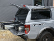 Roof rails fitted to the Alpha CMX hard top