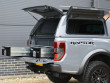 Alpha CMX gullwing hard top fitted to Ford Ranger Raptor