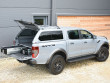 Alpha GSE truck top with pop-out side windows on a Ford Ranger Raptor