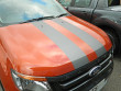 Twin styling stripes bonnet Ford Ranger